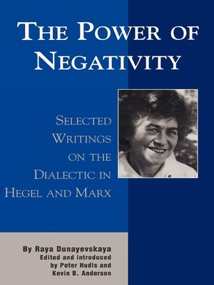 cover image of The Power of Negativity