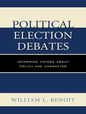 cover image of Political Election Debates