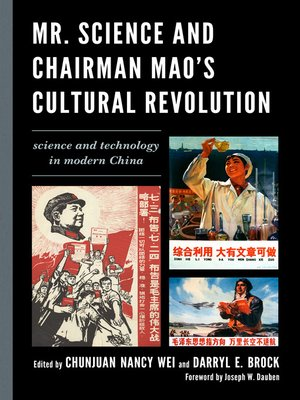 cover image of Mr. Science and Chairman Mao's Cultural Revolution