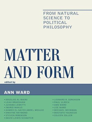 cover image of Matter and Form