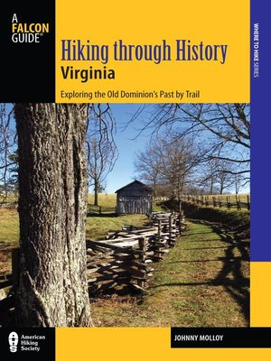 cover image of Hiking through History Virginia