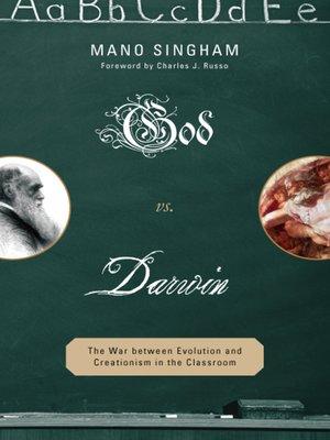 cover image of God vs. Darwin