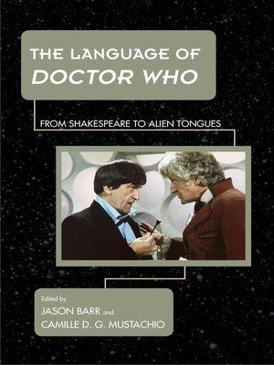 cover image of The Language of Doctor Who