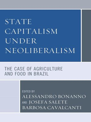 cover image of State Capitalism under Neoliberalism