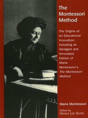 cover image of The Montessori Method