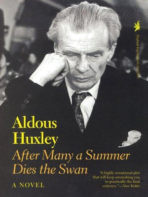 cover image of After Many a Summer Dies the Swan