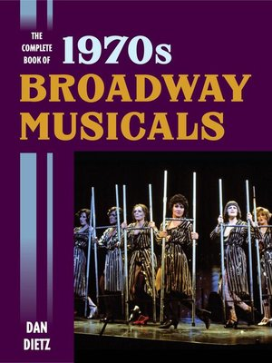 cover image of The Complete Book of 1970s Broadway Musicals