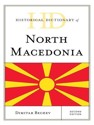cover image of Historical Dictionary of North Macedonia