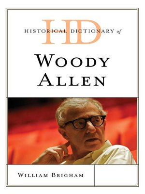 cover image of Historical Dictionary of Woody Allen