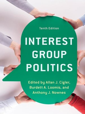 cover image of Interest Group Politics