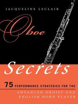 cover image of Oboe Secrets