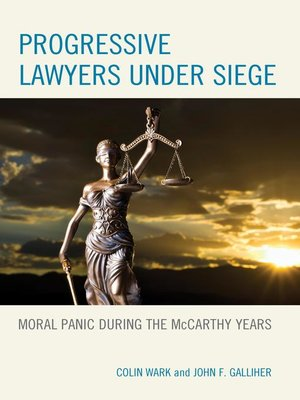 cover image of Progressive Lawyers under Siege