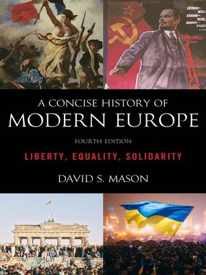 cover image of A Concise History of Modern Europe