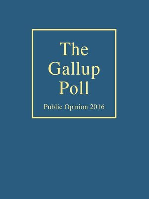 cover image of The Gallup Poll