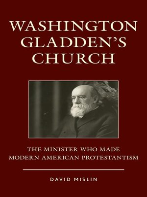 cover image of Washington Gladden's Church