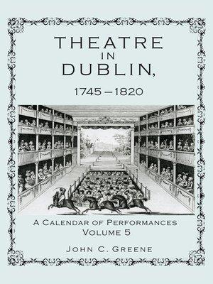 cover image of Theatre in Dublin, 1745-1820