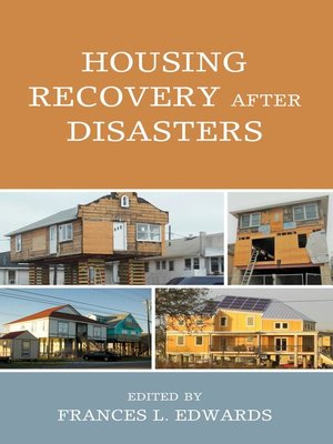 cover image of Housing Recovery after Disasters