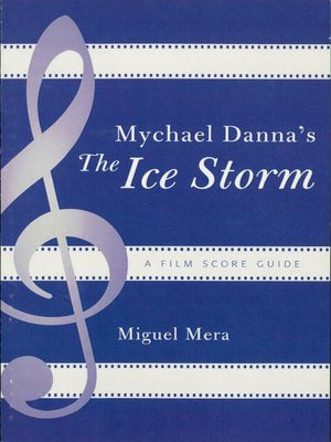 cover image of Mychael Danna's The Ice Storm
