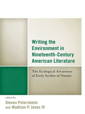 cover image of Writing the Environment in Nineteenth-Century American Literature