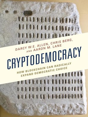 cover image of Cryptodemocracy