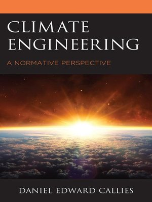 cover image of Climate Engineering