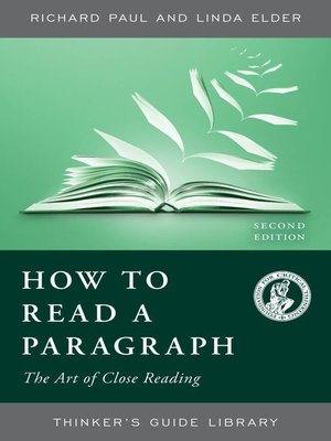 cover image of How to Read a Paragraph