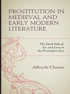 cover image of Prostitution in Medieval and Early Modern Literature