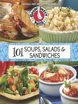 cover image of 101 Soup, Salad & Sandwich Recipes