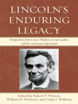 cover image of Lincoln's Enduring Legacy