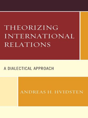 cover image of Theorizing International Relations