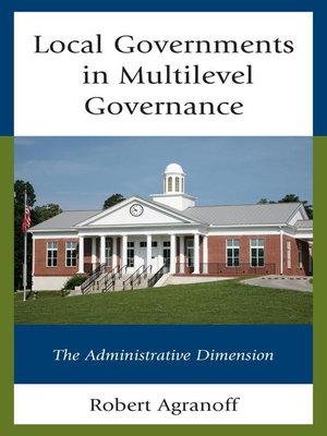 cover image of Local Governments in Multilevel Governance