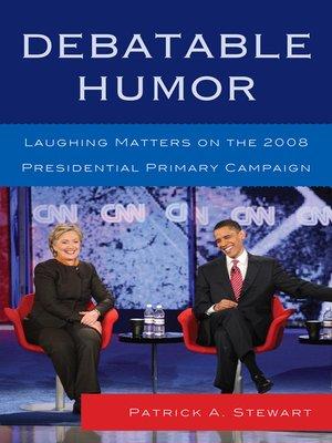 cover image of Debatable Humor