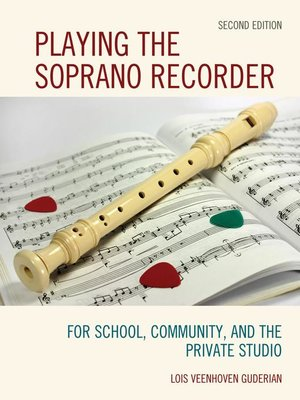 cover image of Playing the Soprano Recorder