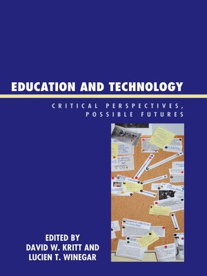 cover image of Education and Technology