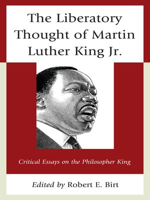 cover image of The Liberatory Thought of Martin Luther King Jr.