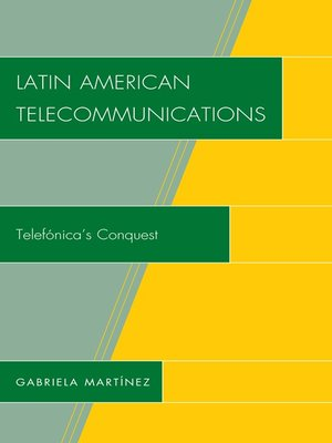 cover image of Latin American Telecommunications
