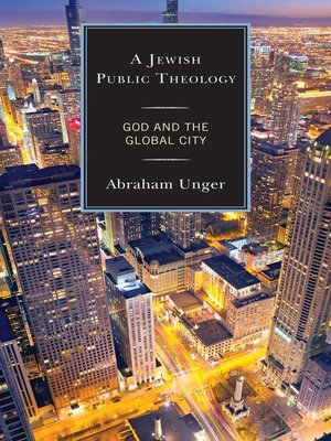 cover image of A Jewish Public Theology