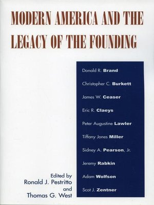 cover image of Modern America and the Legacy of Founding