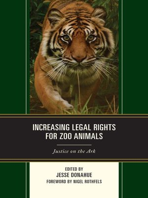 cover image of Increasing Legal Rights for Zoo Animals