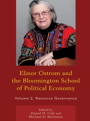 cover image of Elinor Ostrom and the Bloomington School of Political Economy