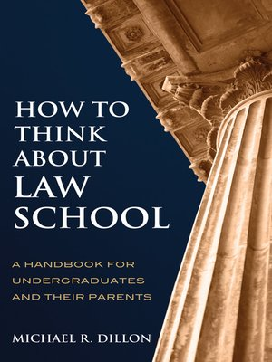 cover image of How to Think About Law School