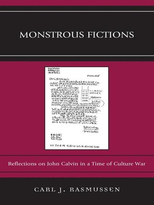 cover image of Monstrous Fictions