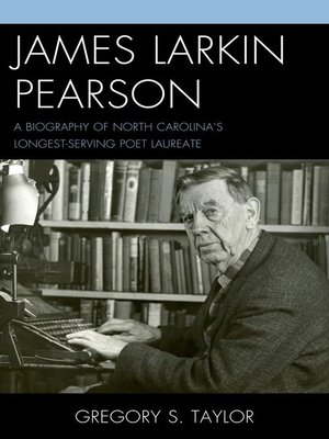 cover image of James Larkin Pearson