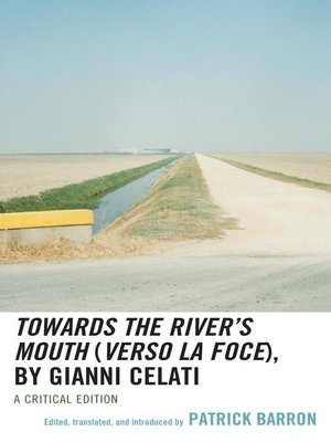 cover image of Towards the River's Mouth (Verso la foce), by Gianni Celati