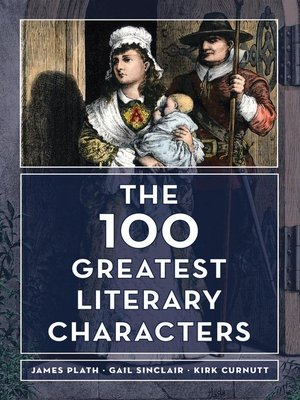cover image of The 100 Greatest Literary Characters