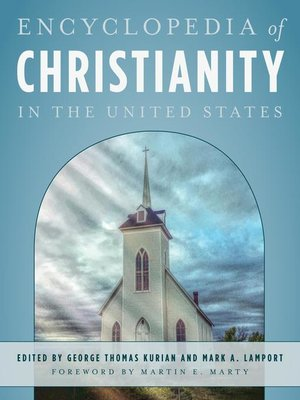 cover image of Encyclopedia of Christianity in the United States