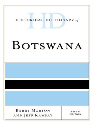 cover image of Historical Dictionary of Botswana