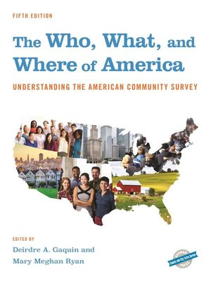 cover image of The Who, What, and Where of America