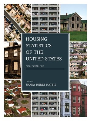 cover image of Housing Statistics of the United States, 2012