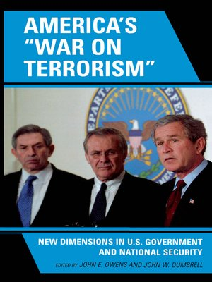 cover image of America's 'War on Terrorism'